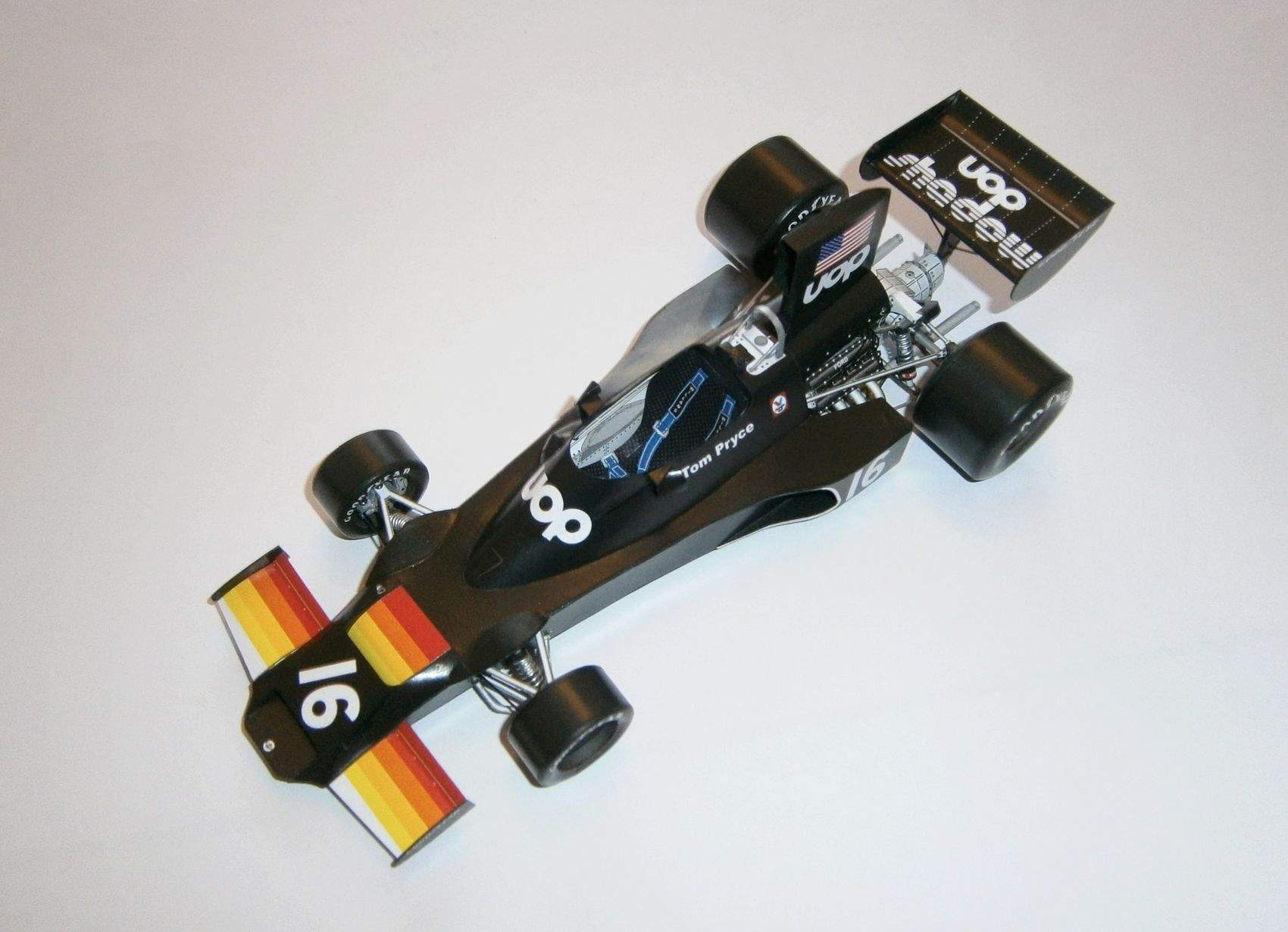 Shadow DN3B Ford - T.Pryce, GP Brasil 1975