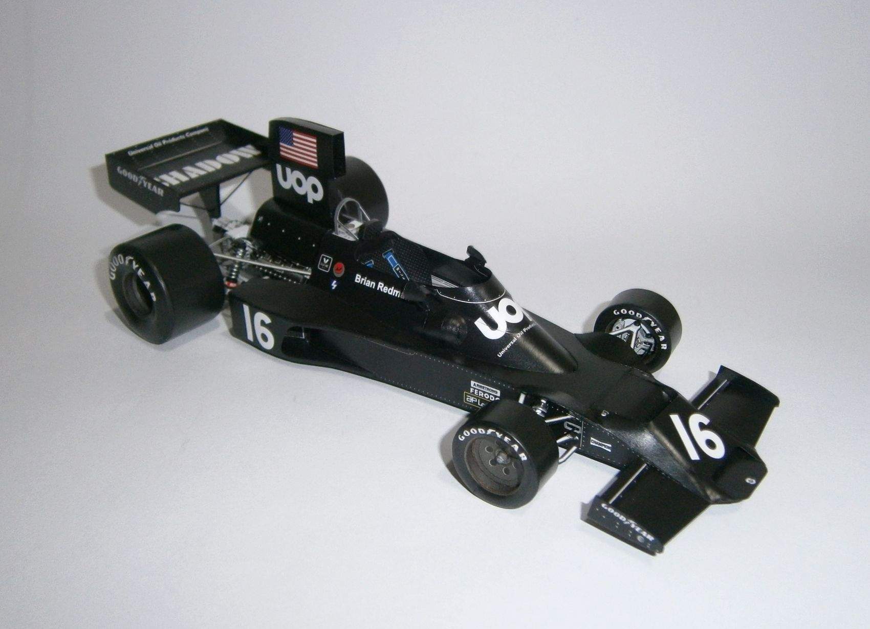Shadow DN3B Ford - B.Redman, GP Belgian 1974