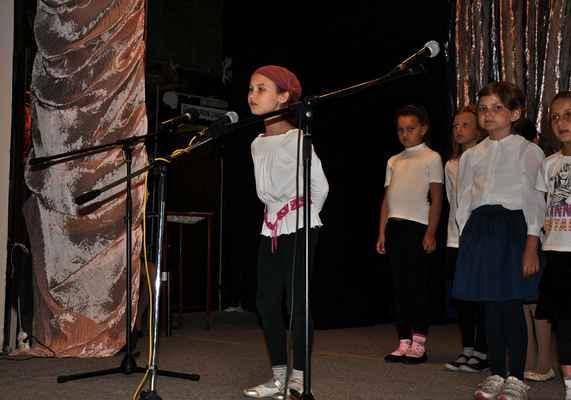 Pěvecký koncert na závěr školního roku