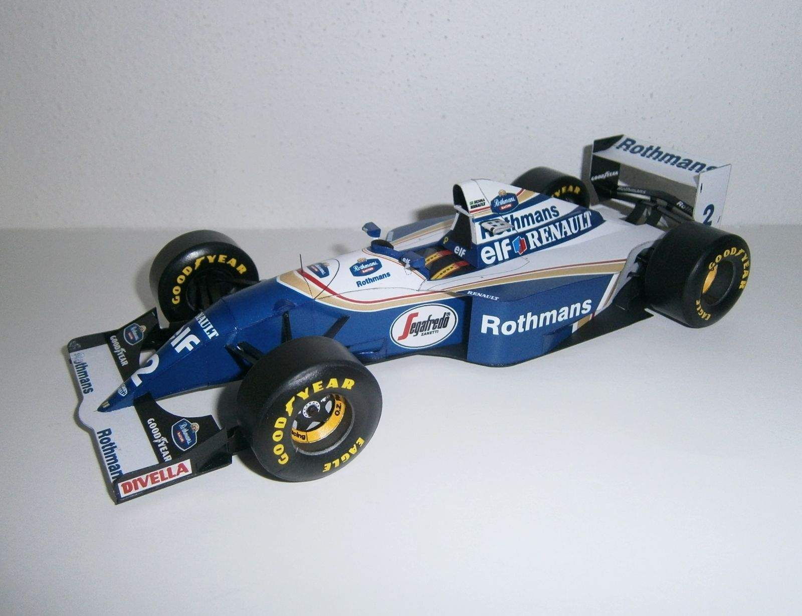 Williams FW16 - A.Senna, GP San Marino 1994