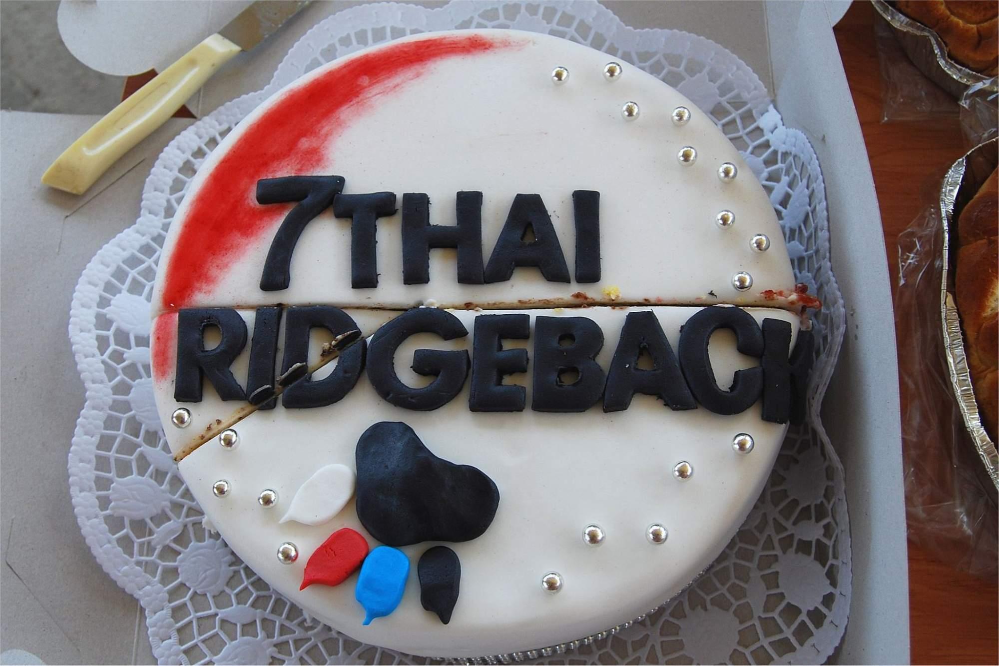 7.THAI ridgeback DAY