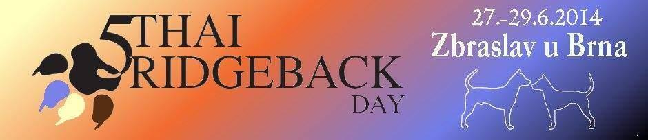 5.THAI ridgeback DAY