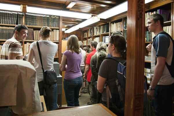 Představení knihovny Severočeského muzea