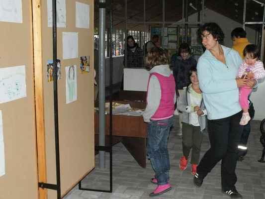O výstavy ve Skleníku byl zájem.