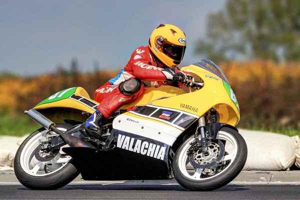 67 - Kunz Petr (CZ) YAMAHA 250 umístil se v třídě Class SP 250 ccm na prvním místě  (2015)