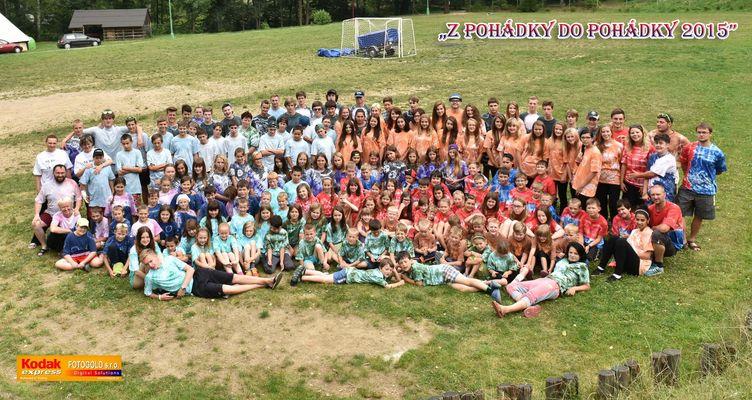 Letní dětský tábor OS KLÍČ na Astře 2015