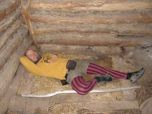 Sobota - docela dobře by se tam spalo.... :-D