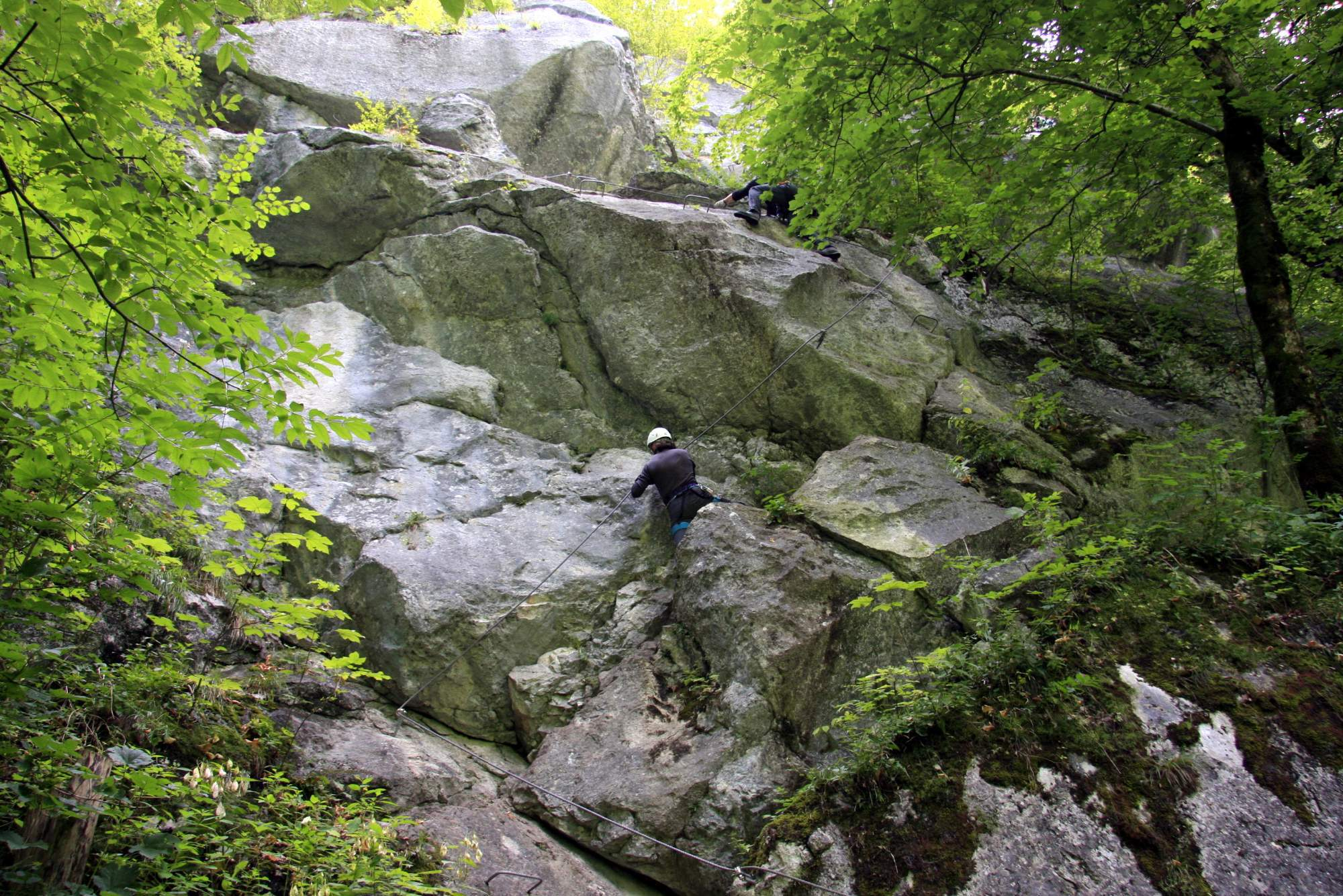 Klettersteig Weiße Gams : Wilde gams klettersteig youtube